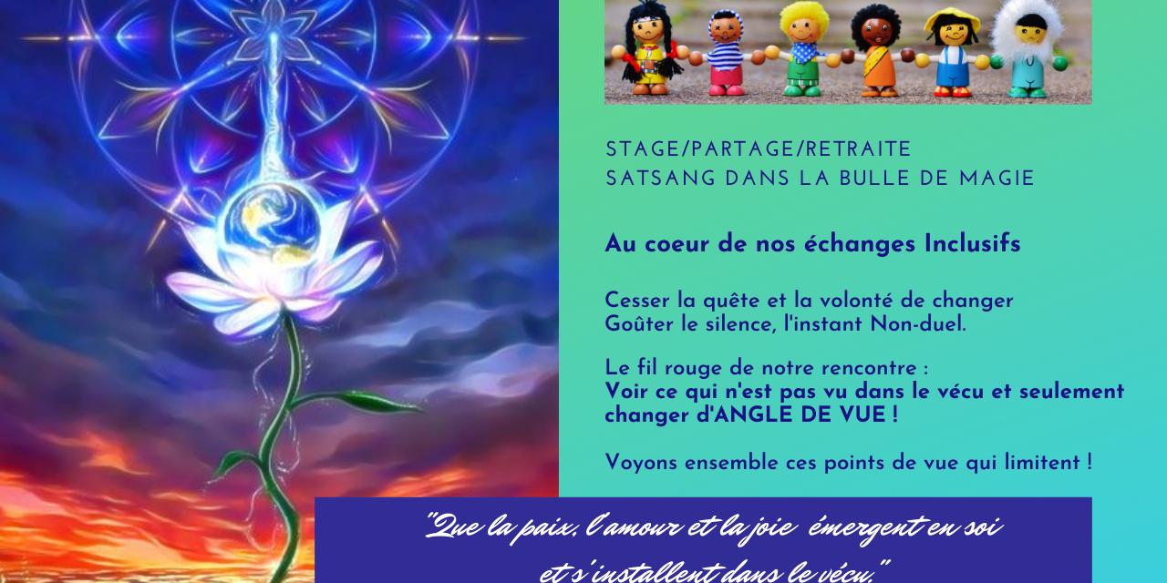 SÉJOUR/STAGE/RETRAITE dans La Bulle de Magie